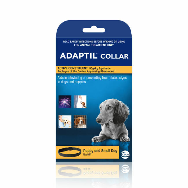Adaptil Calm On-The-Go Collar for Puppies and Small Dogs 1