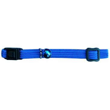 Beau Pets Nylon Elastic Cat Collar - Blue 1