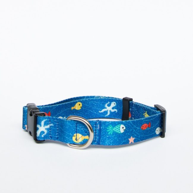 AniPal Dog Collar Great Barrier Reef Small 1