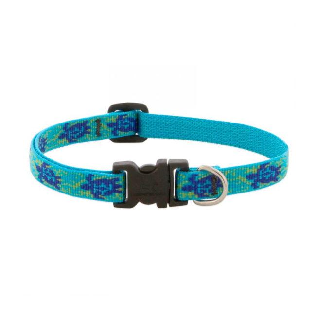 "Lupine Turtle Reef Large Dog Collar 12-20"""
