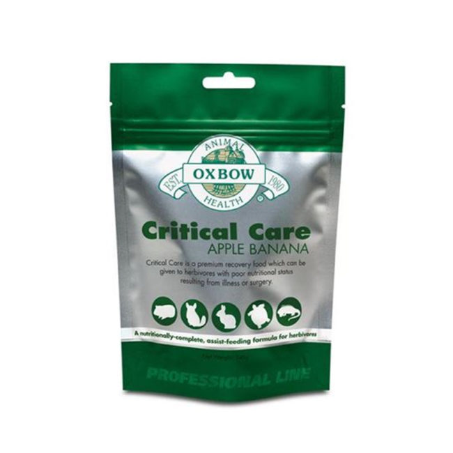 Critical Care for Herbivores Apple & Banana 454g