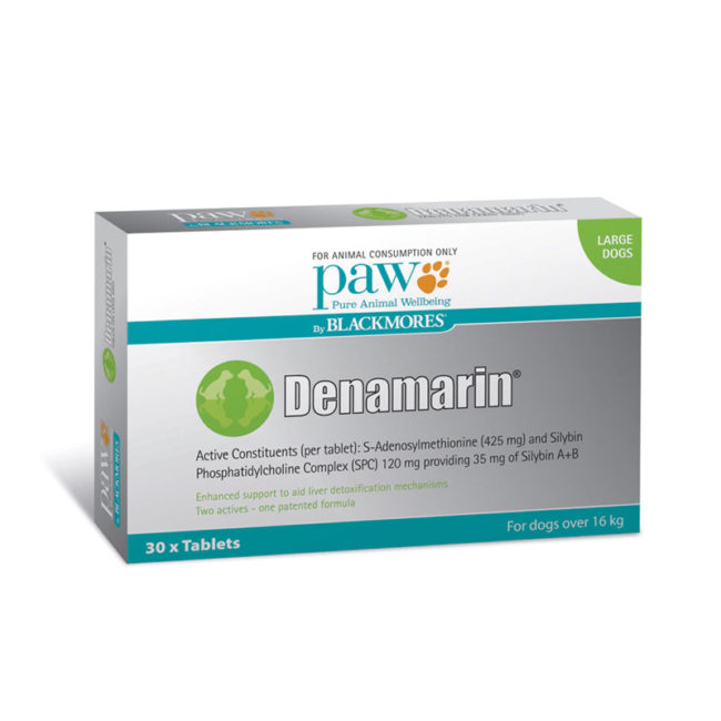 PAW Denamarin 425mg for Large Dogs - 30 Pack