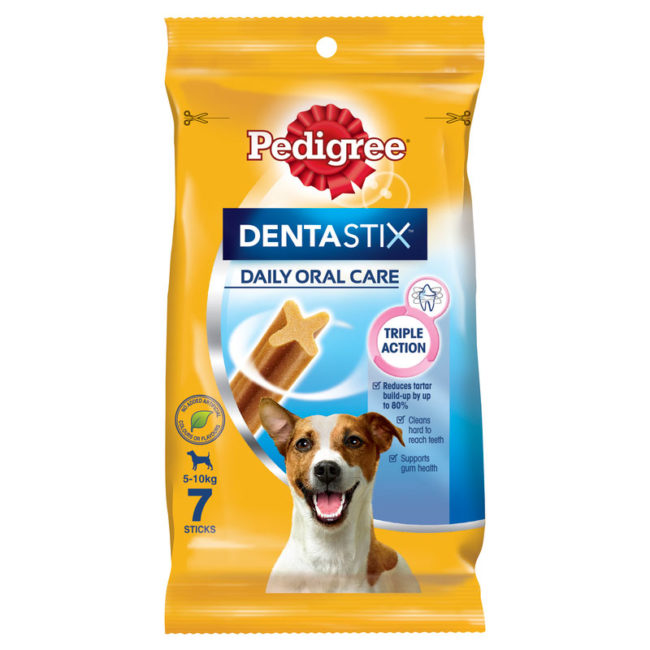 Pedigree DentaStix Dental Treats for Small Dogs - 7 Pack 1