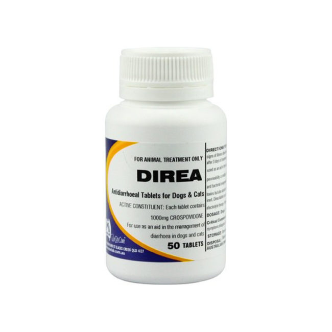 Direa Antidiarrhoeal Tablets  - 50 Pack