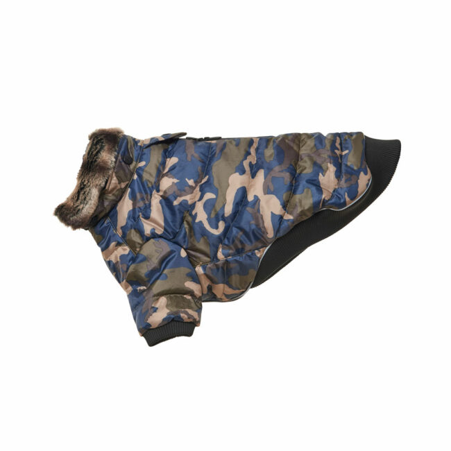 BUSTER Country Winter Dog Coat Camouflage Medium 1