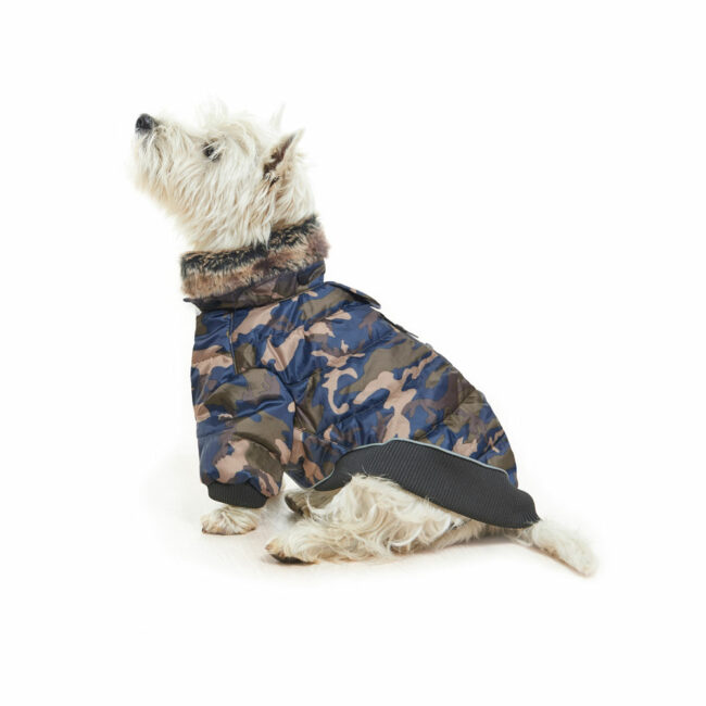 BUSTER Country Winter Dog Coat Camouflage Medium 2