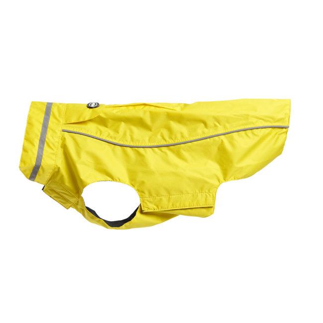 BUSTER Classic Dog Raincoat Lemon Large 1