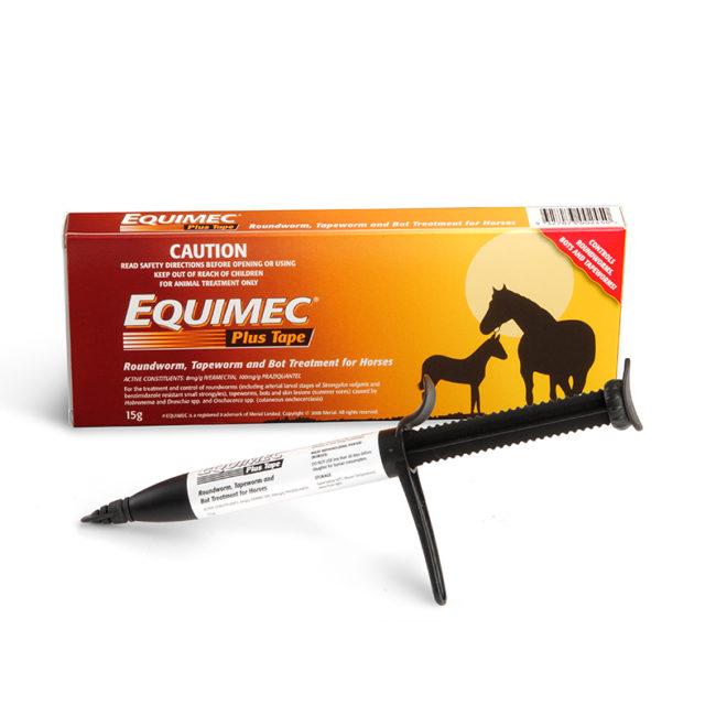 Equimec Plus Tape Paste 15g Syringe