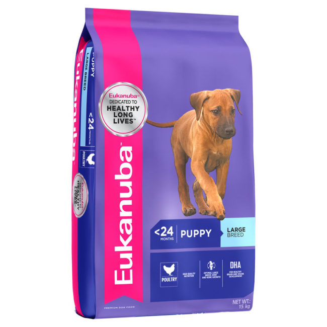 Eukanuba Puppy Large Breed 15kg 1