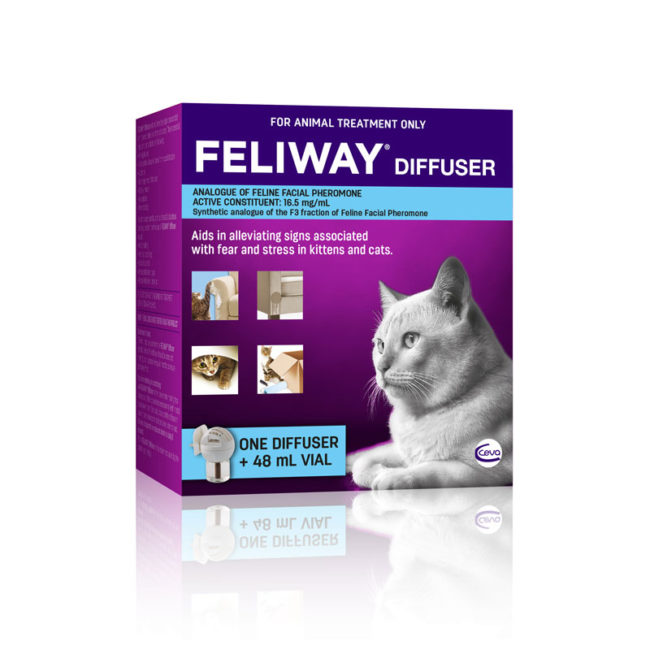 Feliway Diffuser Complete with 48ml Vial 1