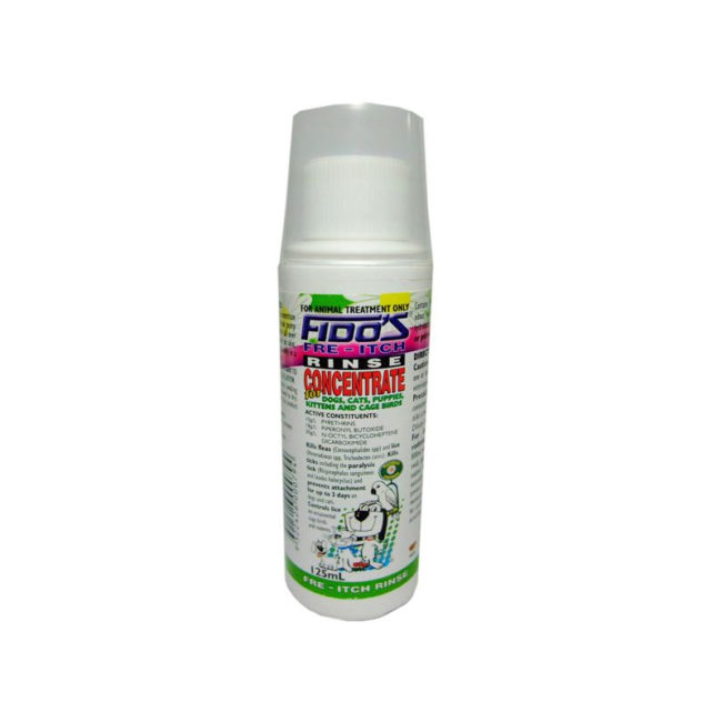 Fido's Fre-Itch Rinse Concentrate 125ml