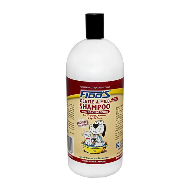 Fido's Gentle and Mild Shampoo with Baking Soda 1L