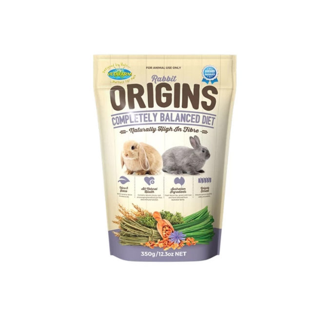 Vetafarm Rabbit Origins Food 350g