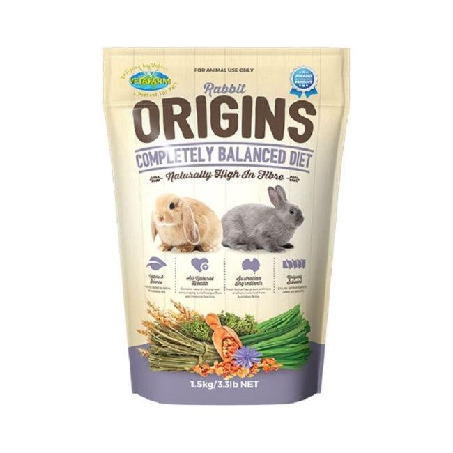 Vetafarm Rabbit Origins Food 1.5kg