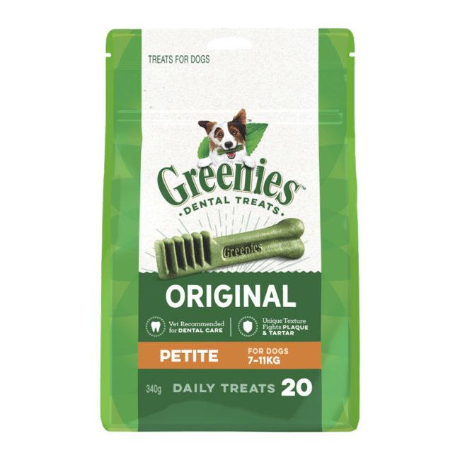 Greenies Original Petite Dental Treats for Dogs - 20 Pack 1