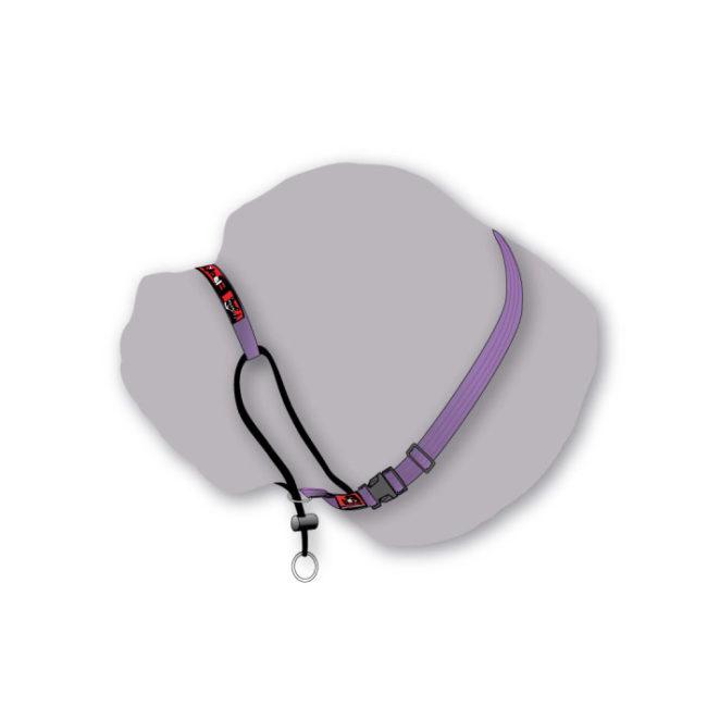 Black Dog Purple Classic Training Halter - Large 1