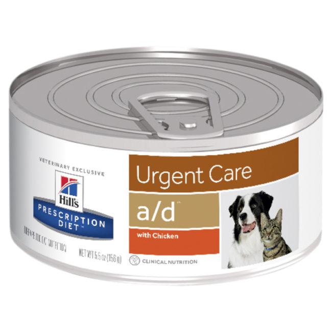 Hills Prescription Diet Canine/Feline a/d Urgent Care 156g x 24 Cans 1