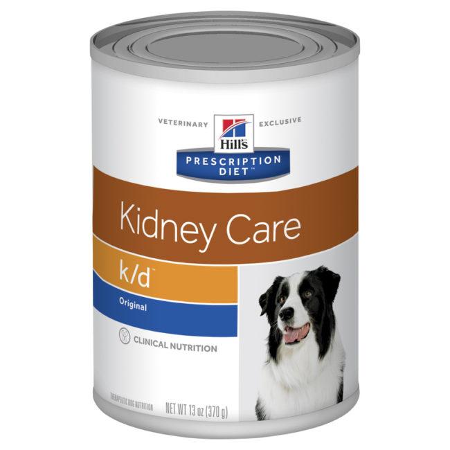 Hills Prescription Diet Canine k/d Kidney Care Original Flavour 370g x 12 Cans 1