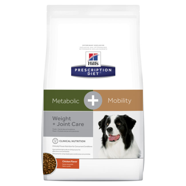 Hills Prescription Diet Canine Metabolic + Mobility 3.86kg