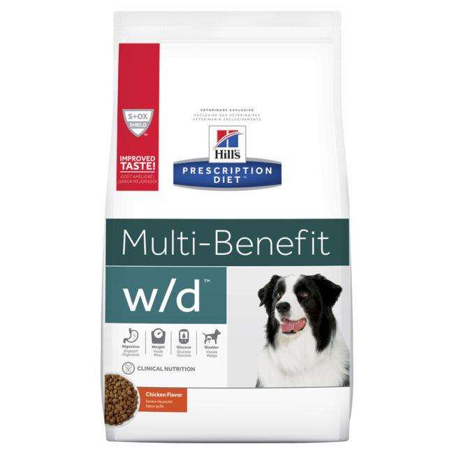 Hills Prescription Diet Canine w/d Multi-Benefit 12.5kg 1
