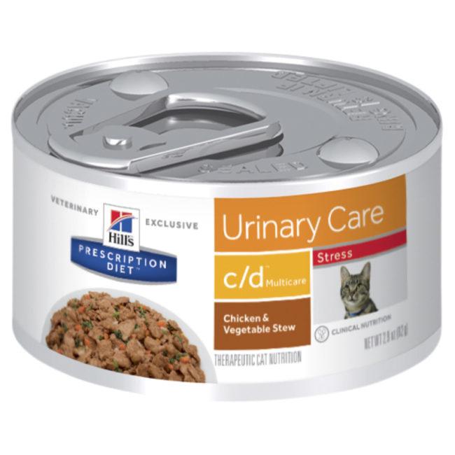 Hills Prescription Diet Feline c/d Urinary Multicare Stress 82g x 24 Cans 1