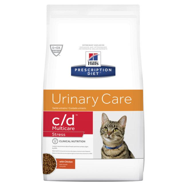 Hills Prescription Diet Feline c/d Urinary Multicare Stress 1.8kg 1