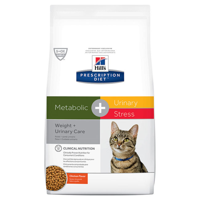 Hills Prescription Diet Feline Metabolic + Urinary Stress 2.88kg 1
