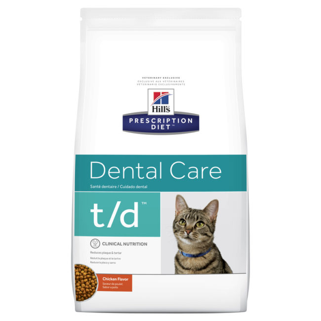 Hills Prescription Diet Feline t/d Dental Care 1.5kg 1