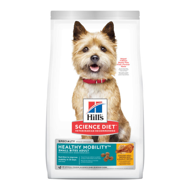 Hills Science Diet Adult Dog Healthy Mobility Small Bites 7kg 1