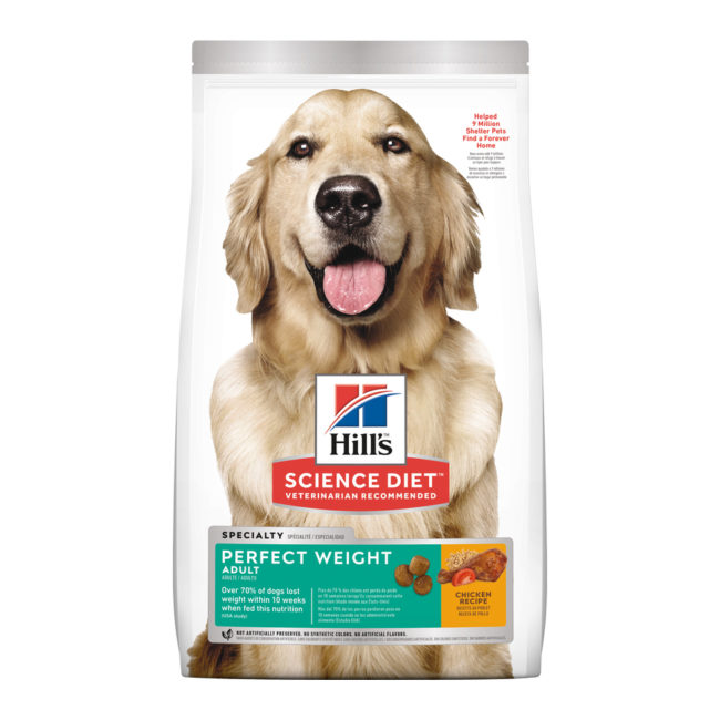 Hills Science Diet Adult Dog Perfect Weight 6.8kg 1