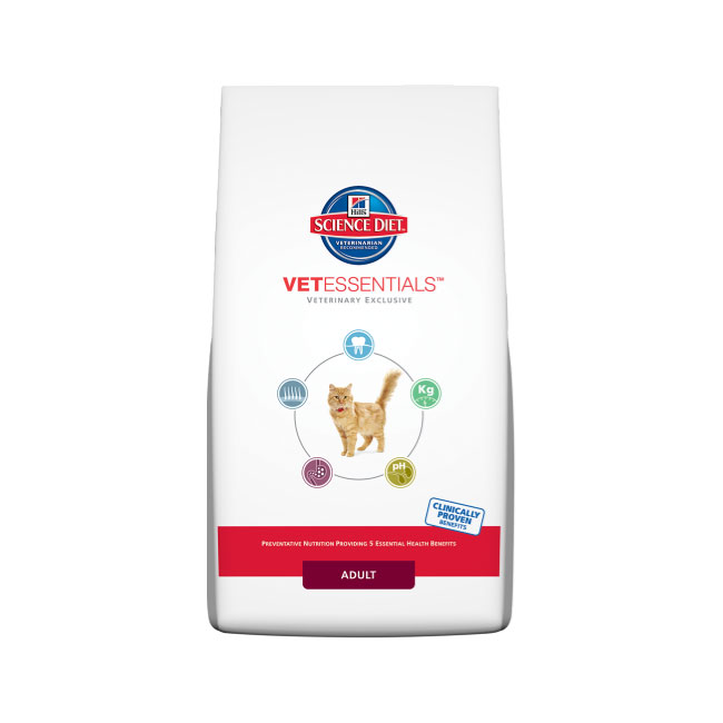 Hills Science Diet Vet Essentials Adult Cat 2kg 1