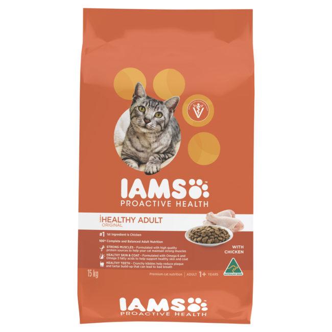 IAMS Adult Cat Chicken 15kg 1