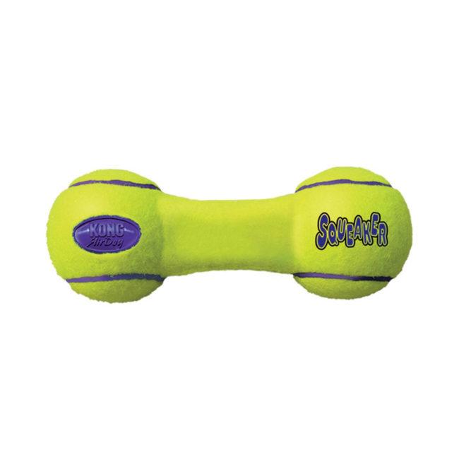 KONG Airdog Squeaker Dumbbell Dog Toy Medium 1