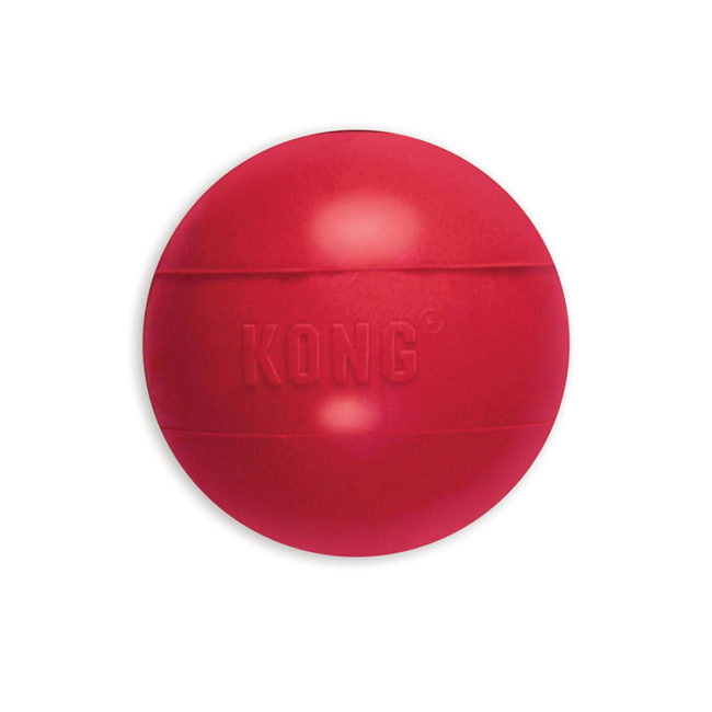 KONG Ball Dog Toy Red Small 1
