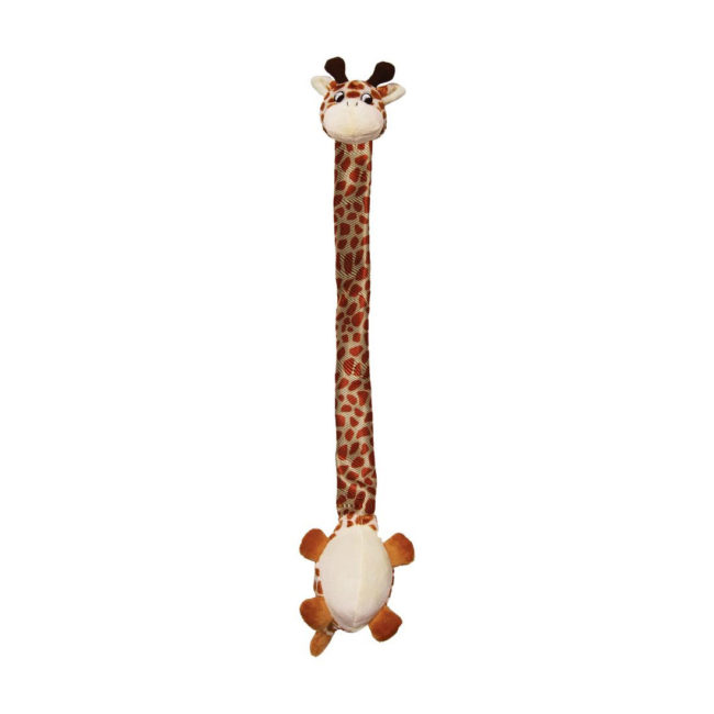 KONG Danglers Giraffe Plush Dog Toy 1