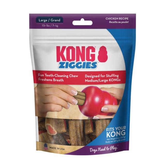 KONG Ziggies Adult Dog Treats Large - 6 Pack 1