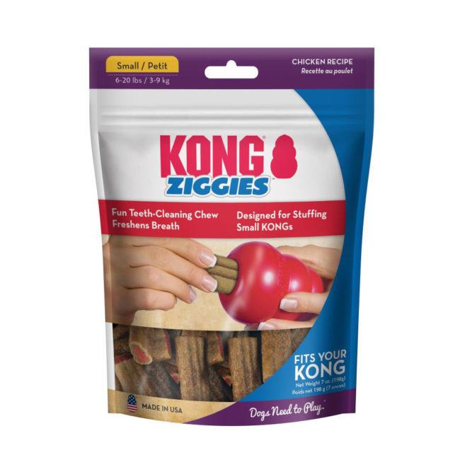 KONG Ziggies Adult Dog Treats Small - 12 Pack 1