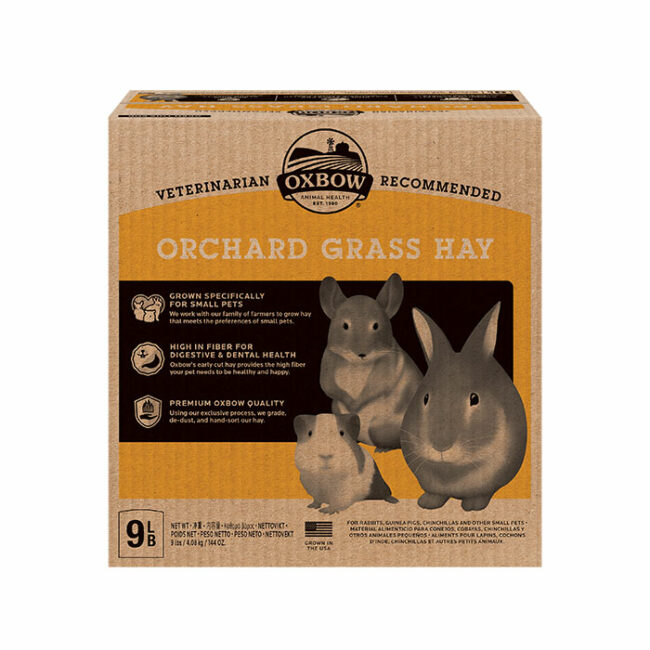 Oxbow Orchard Grass Hay 4kg 1