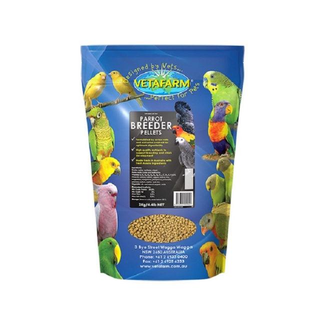 Vetafarm Breeder Parrot Pellets 2kg