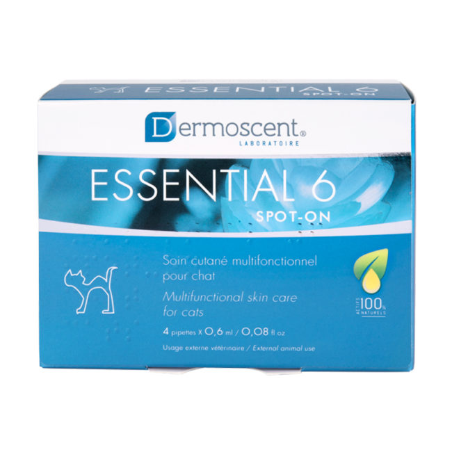 Dermoscent Essential 6 Spot On for Cats - 4 Pack