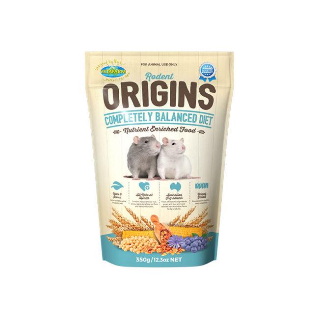 Vetafarm Rodent Origins Rat & Mouse Food 350g