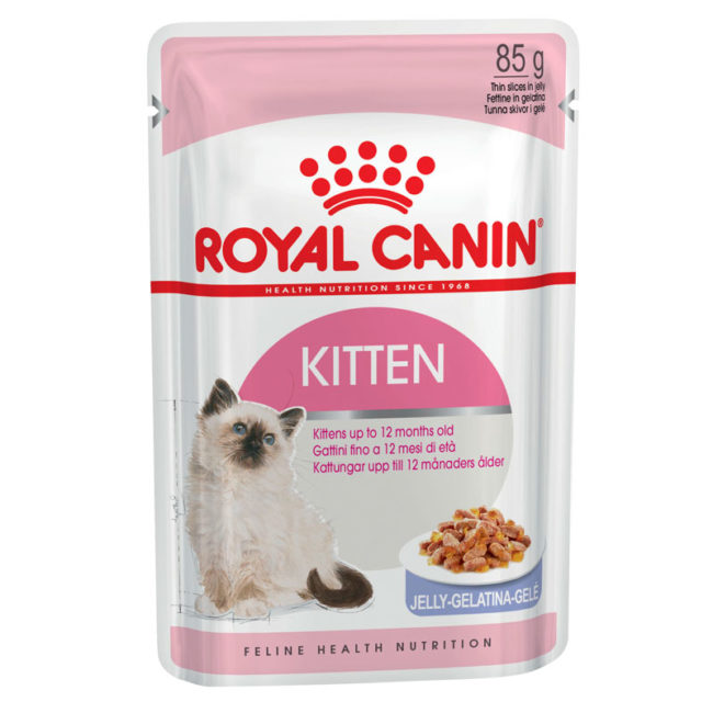 Royal Canin Kitten Food Jelly 85g x 12 Pouches 1