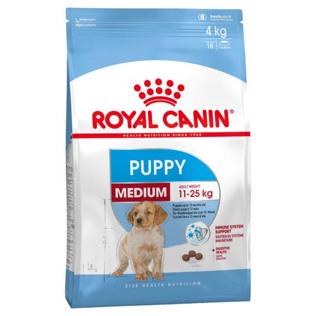 Royal Canin Puppy Food Medium Dry 4kg 1