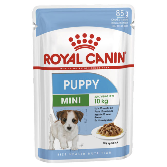 Royal Canin Puppy Food Mini 85g x 12 Pouches 1