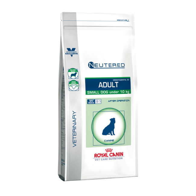 Royal Canin Vet Care Nutrition Neutered Adult Small Dog 3.5kg 1