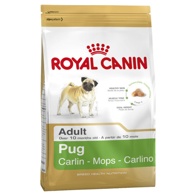 Royal Canin Breed Health Nutrition Pug Adult 3kg 1