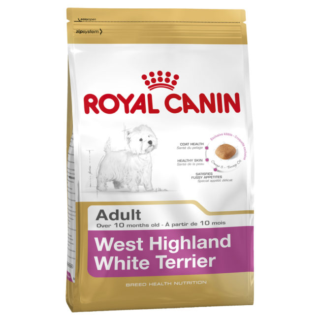 Royal Canin Breed Health Nutrition West Highland White Terrier Adult 3kg 1