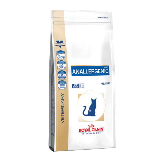 Royal Canin Vet Diet Feline Anallergenic 4kg 1