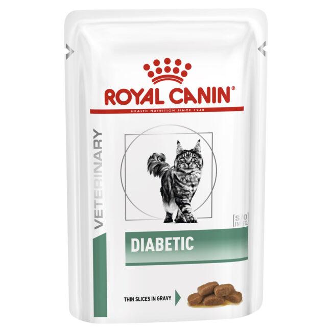 Royal Canin Diabetic Feline 85g x 12 Pouches 1