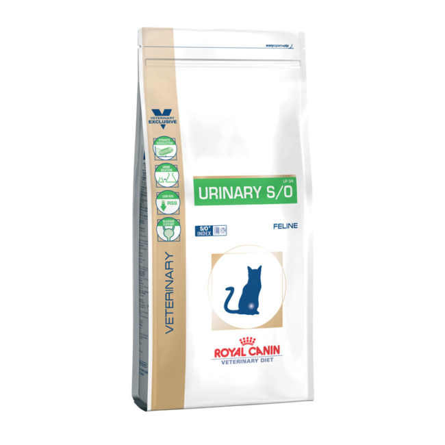 Royal Canin Vet Diet Feline Urinary S/O 1.5kg 1